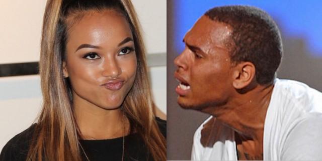 Chris Brown Acting Up Over His Karrueche Tran Heartbreak