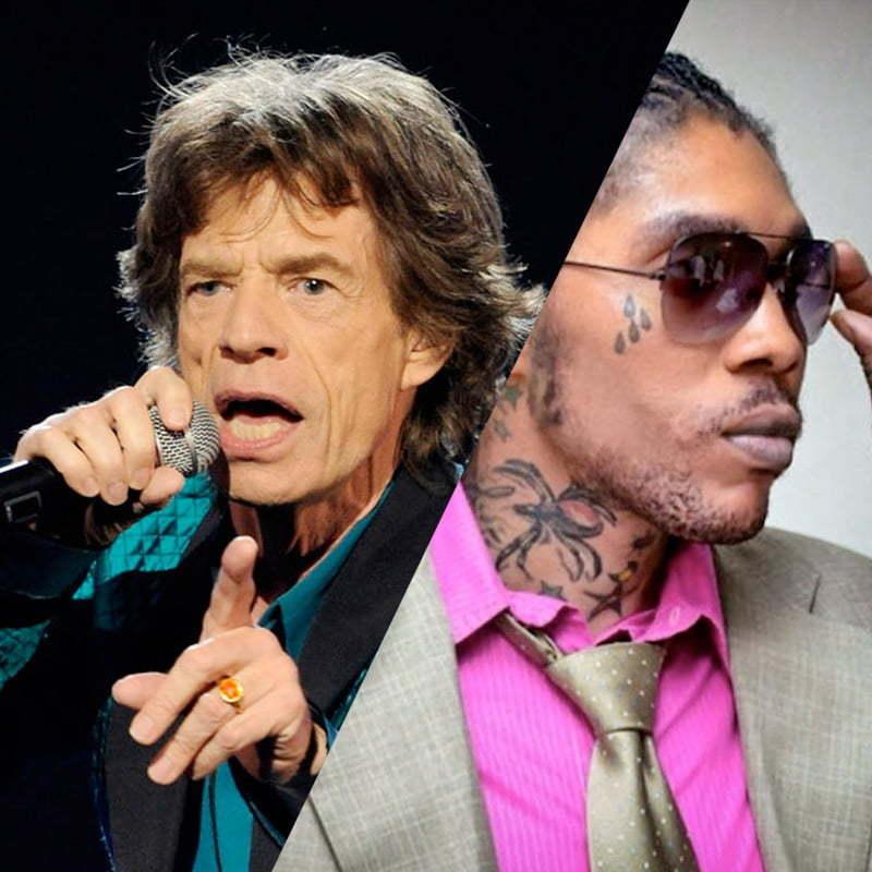 Mick Jagger and Vybz Kartel