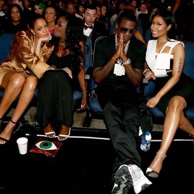 Nicki Minaj Rihanna Meek Mill BET Awards