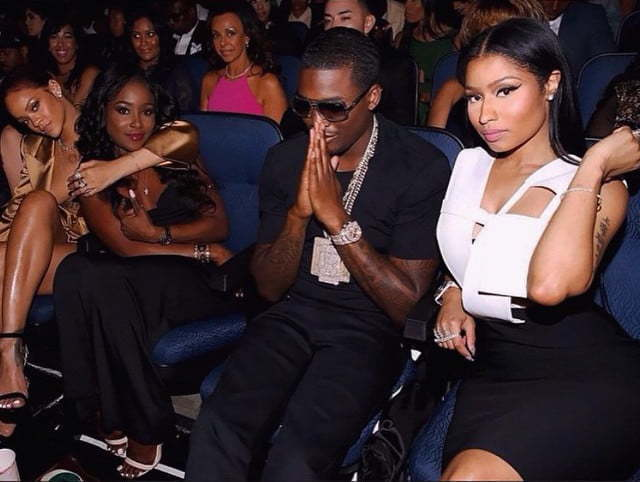 Nicki and Meek BET Awards 2015