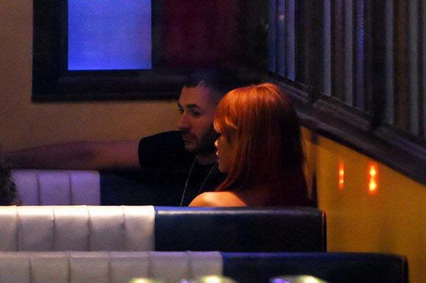 Rihanna Benzema dating