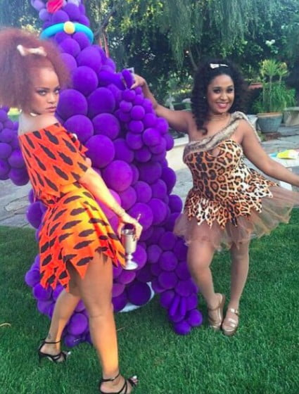 Rihanna flintstone