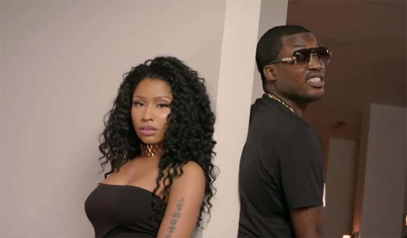 Nicki Minaj Meek Mill All Eyes On You