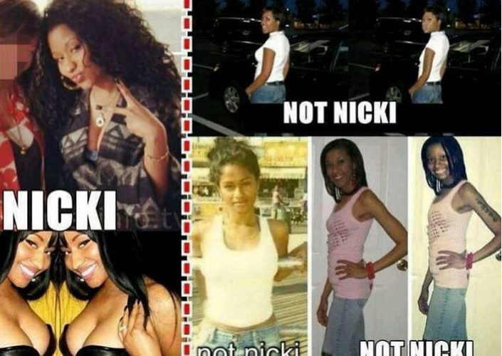 Nicki Minaj Call Out Haters Over Photoshop Photos