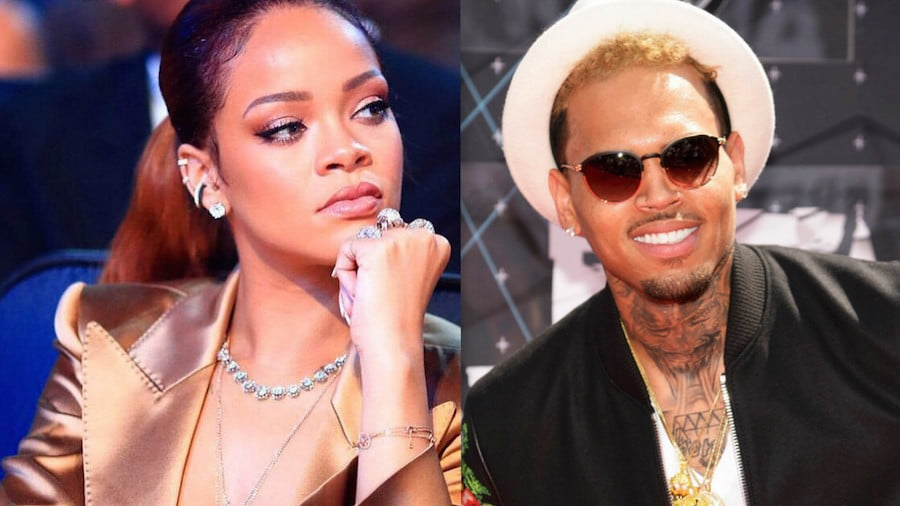 Rihanna and Chris Brown 2015