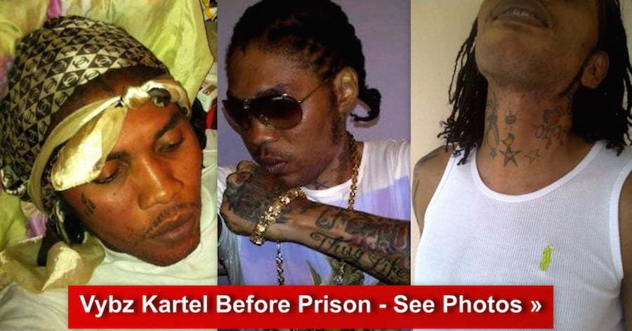 Vybz Kartel before prison photos