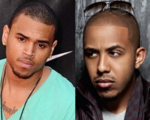 Chris Brown Diss Marques Houston Over Thirsty Karrueche Tran Comment
