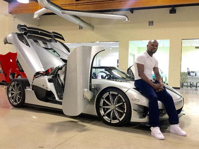 floyd mayweather spend 5 million on world most expensive car