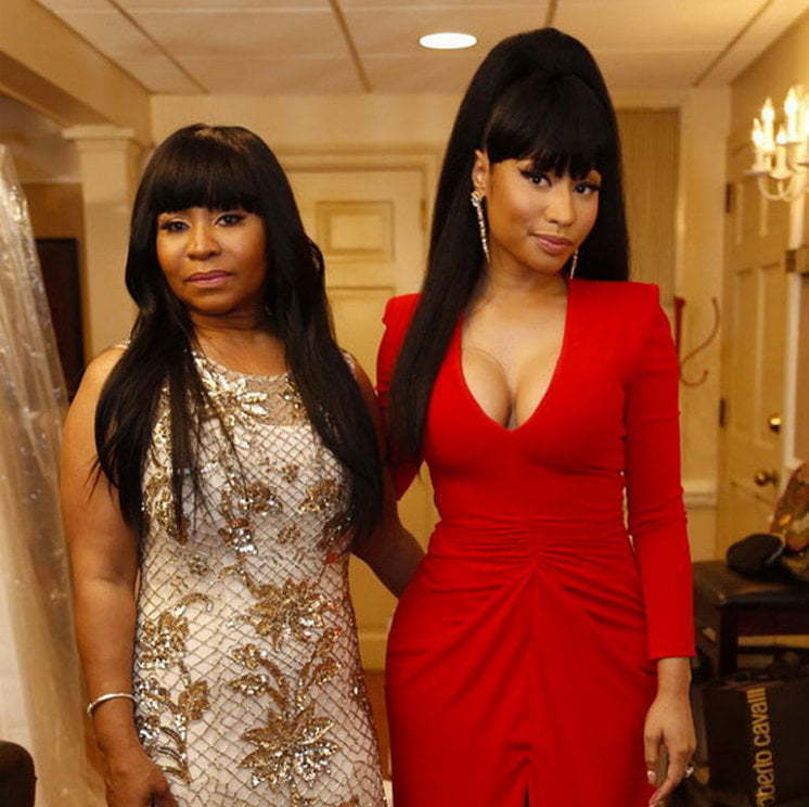 Nicki Minaj mother at wedding