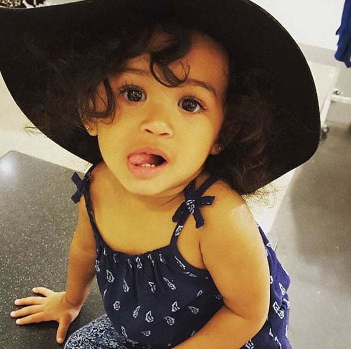 chris brown daughter - 700×697