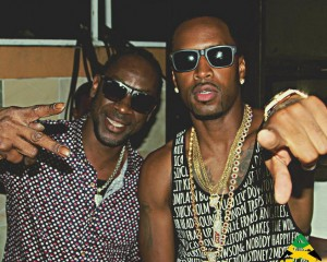 Safaree Samuels Party With Bounty Killer In Jamaica