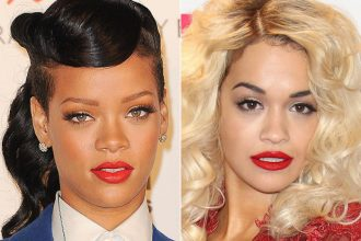 Rihanna And Rita Ora Feuding Over Chris Brown Song