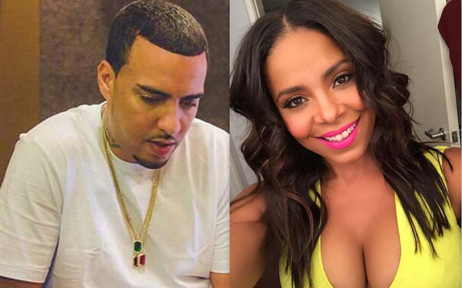 French Montana and Sanaa Lathan