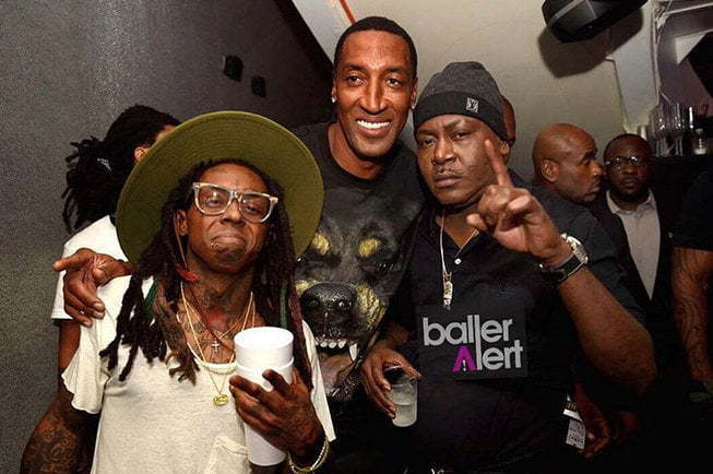 Lil Wayne birthday party