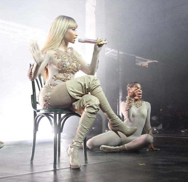Nicki Minaj milan fashion week