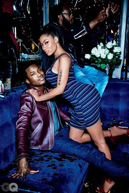 Nicki and Meek Mill in GQ