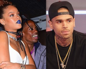 Chris Brown Says Rihanna Not Contacted Him Since She Started Dating Travis Scott
