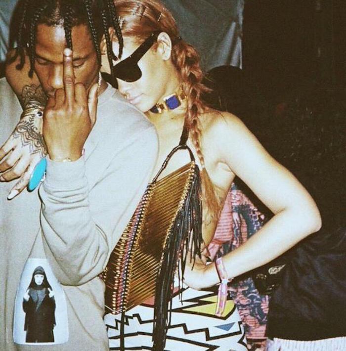 Rihanna Travis Scott dating