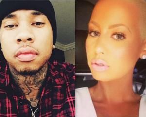 Tyga Calls Amber Rose A Peanut Head, Diss Blac Chyna