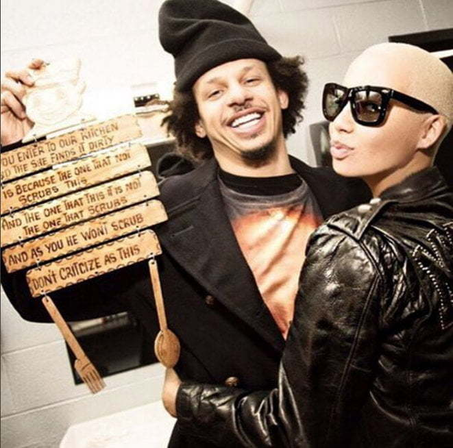 Amber and Eric Andre