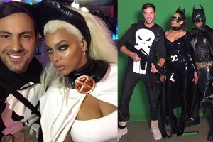 PHOTO: Beyonce As Storm At Ciara Halloween Birthday Party