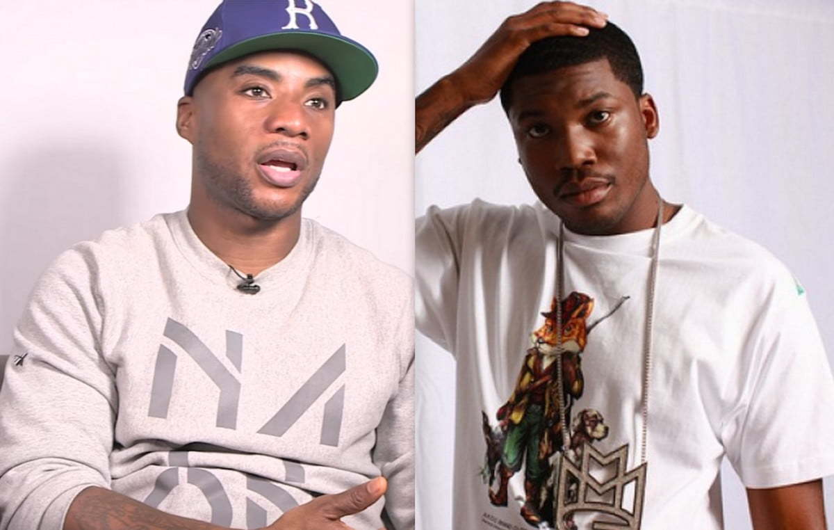 Charlamagne and Meek Mill