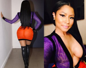 Nicki Minaj Wears Racy Curve Hugging Outfit For SNL [PHOTO]