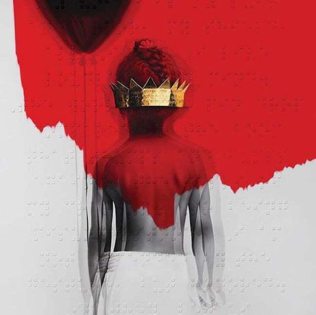 Rihanna album cover ANTI