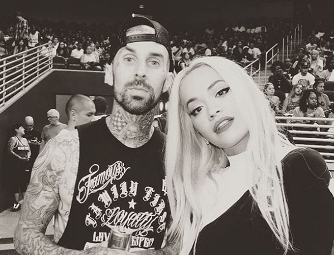 Rita Ora Spotted With Travis Barker As Wiz Khalifa Dating