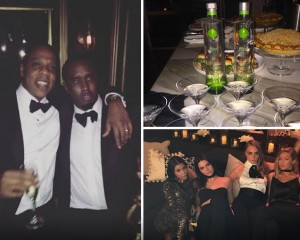 Diddy Host Star-Studded 46th Birthday Party In Beverly Hills