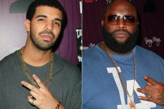 "Rick Ross Drop Remix For Drake & Future ""Where Ya At"" 50 Cent Diss"