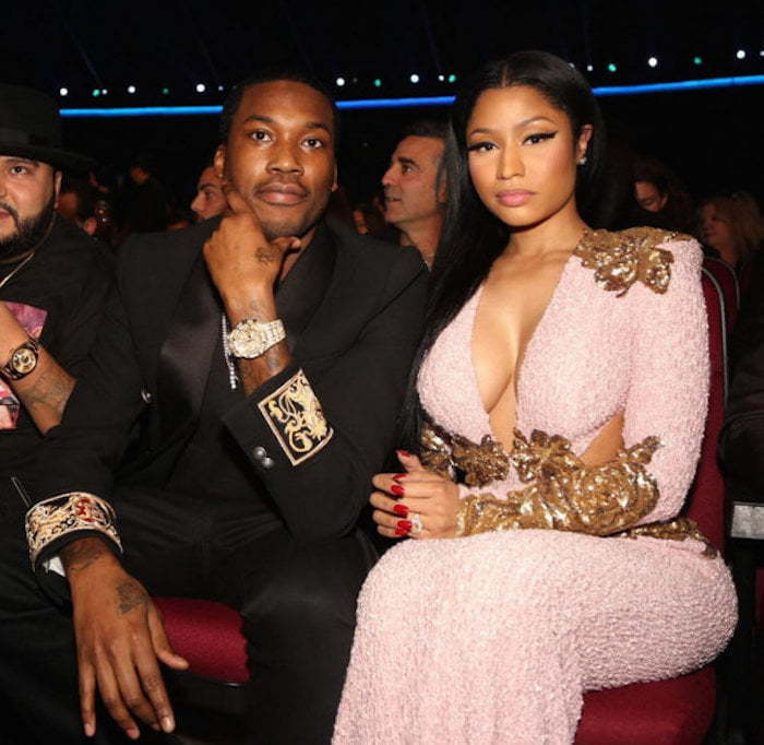 Nicki Minaj Meek Mill at AMAs