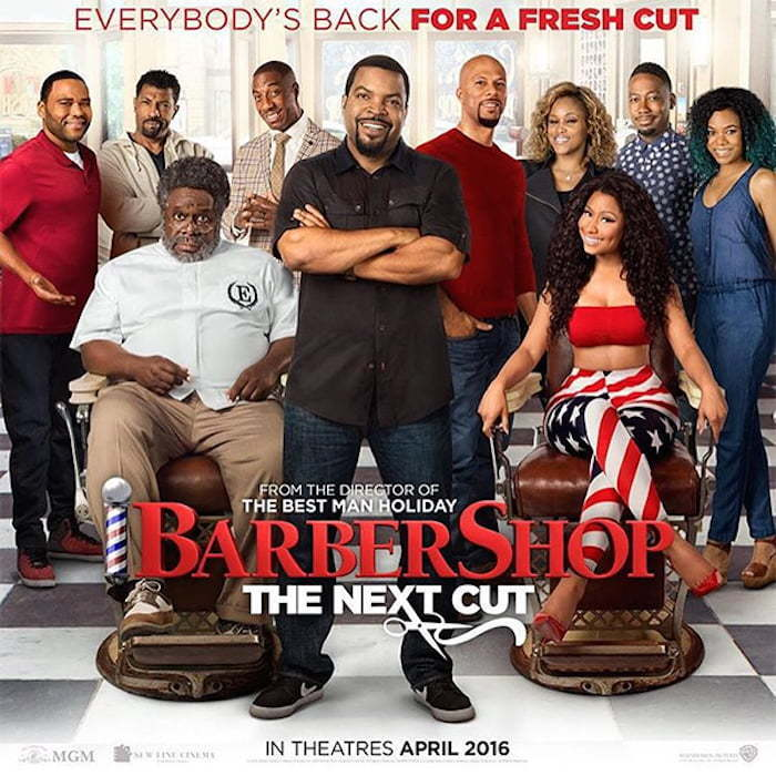barbershop next cut poster