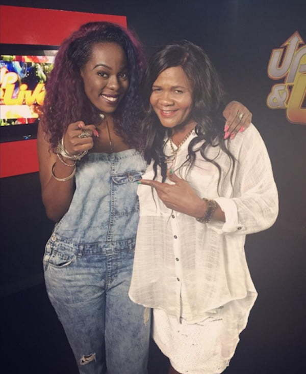 J Capri and Lady Saw