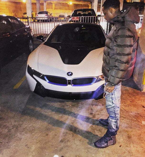 Monty BMW i8
