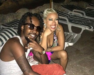Popcaan and Keyshia Cole Not Banging Yet