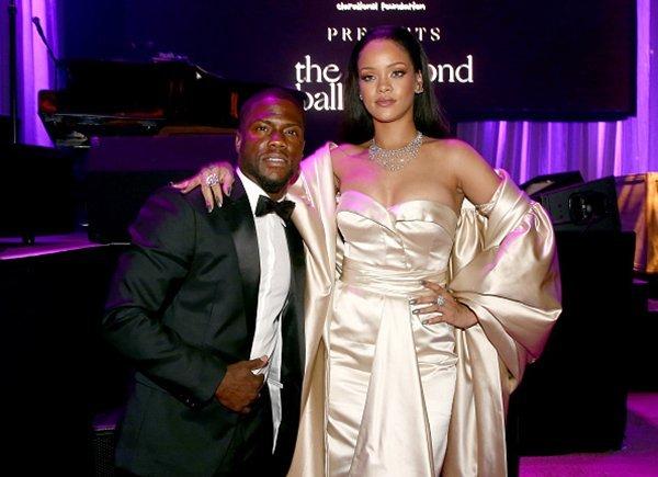 Rihanna Kevin Hart