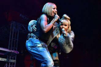 Lil Kim and Mary J. Blige Performed At 'Hot for the Holidays'