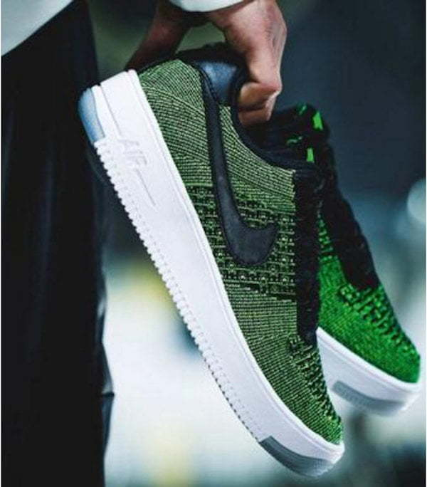 Air Force 1 Ultra Flyknit green