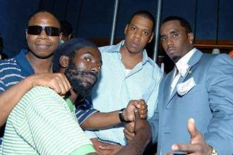 Did Buju Banton Gets Prison Visit From Jay Z, Diddy & Doug E. Fresh?.. The Story Behind The Photo