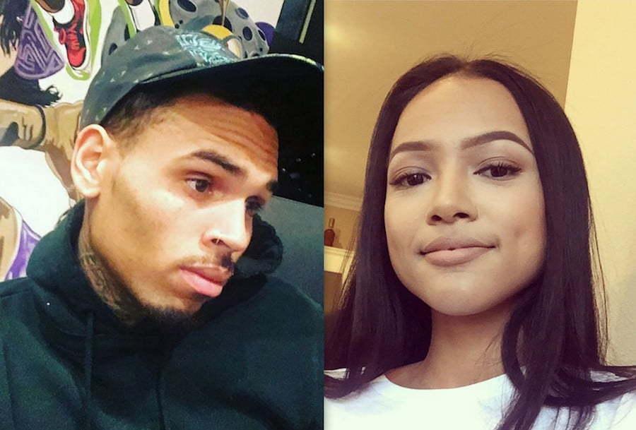 Chris Brown and Karrueche Tran 2016