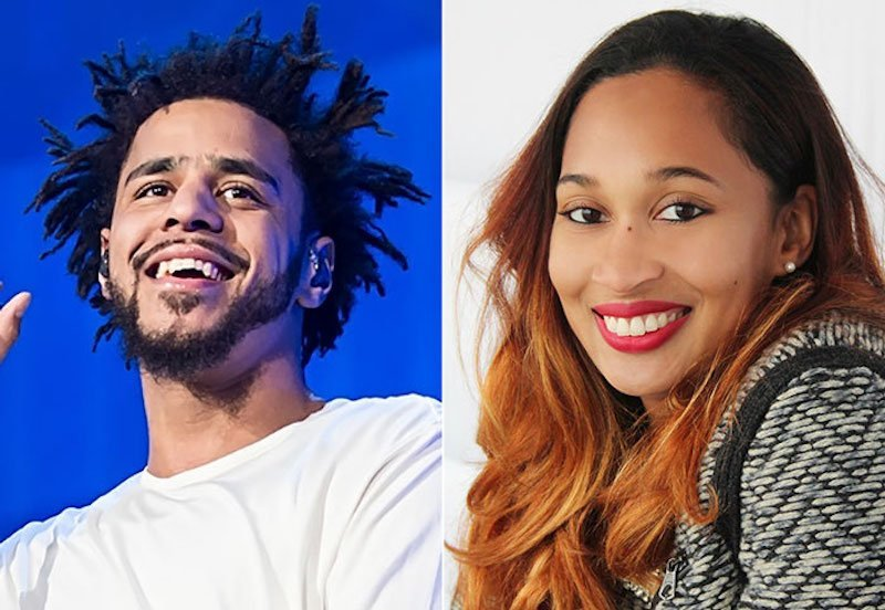 J Cole And His Wife J. Cole Confirm...