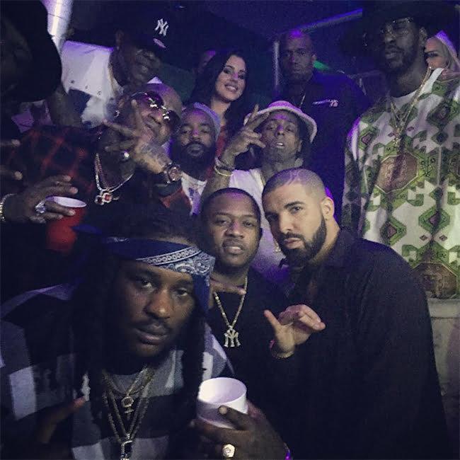 Lil Wayne Birdman Drake