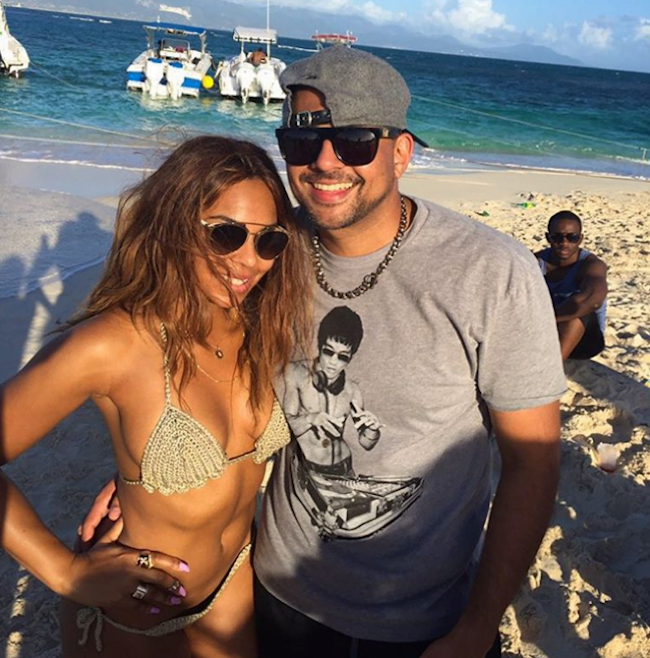 Ashanti and Sean Paul in Jamaica