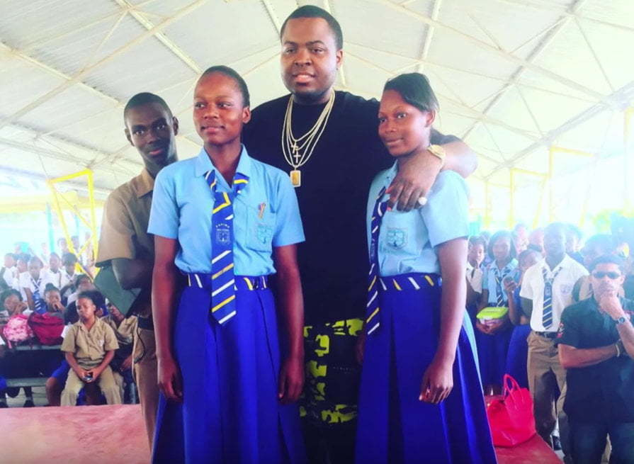 Sean Kingston in Jamaica