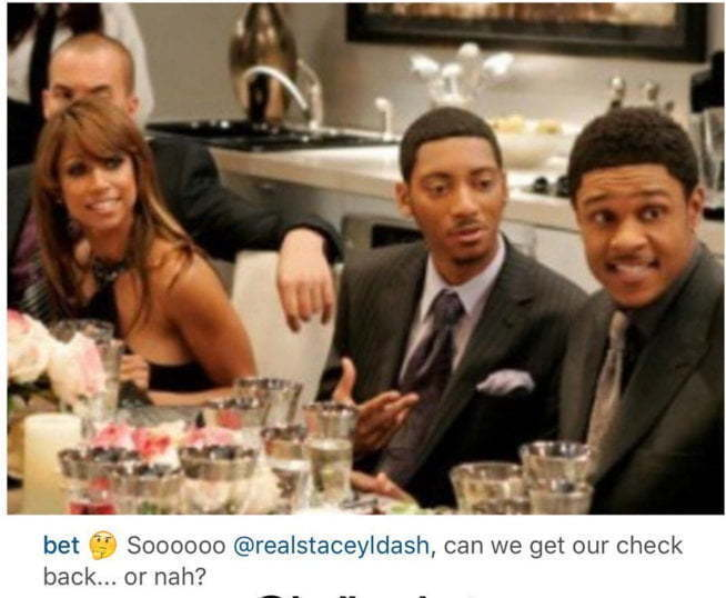 Stacy Dash The Game BET