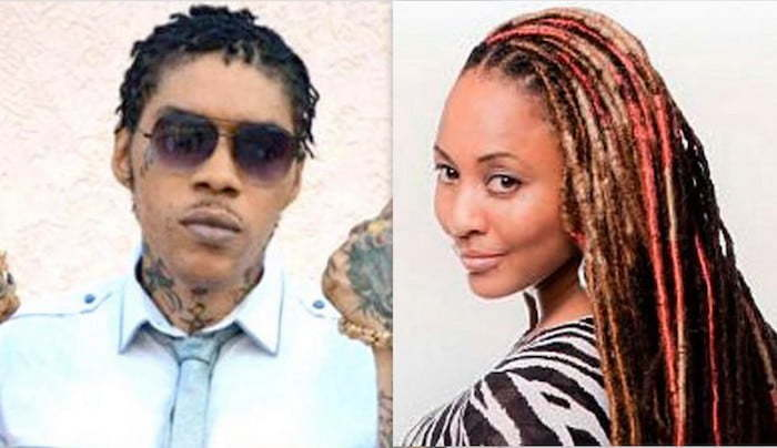Vybz Kartel and DJ Sunshine