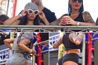 Amber Rose and Blac Chyna Roar Into Trinidad Carnival 2016
