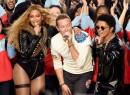 Beyonce, Bruno Mars & Coldplay Slays Super Bowl Halftime Show [Watch Live]