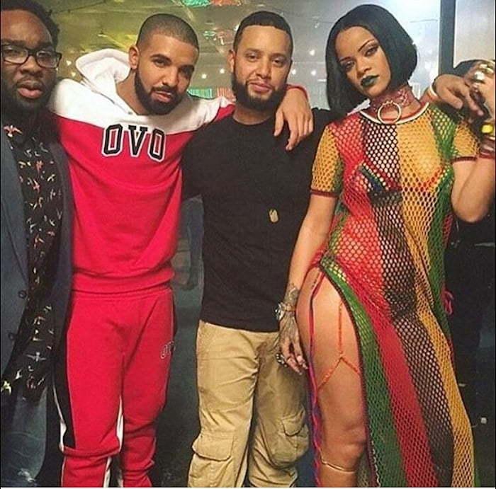 Rihanna and Drake work video